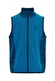 Color-Kids---Fleece-gilet-voor-jongens---Melange---Lichtblauw