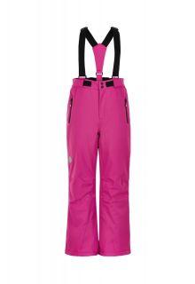 Color-Kids---Skibroek-met-slim-fit-voor-meisjes---Effen---Roze
