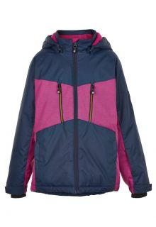 Color-Kids---Ski-jas-voor-meisjes---Melange---Roze