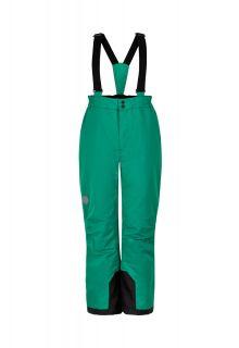 Color-Kids---Skibroek-met-vaste-bretels-voor-kinderen---Effen---Groen
