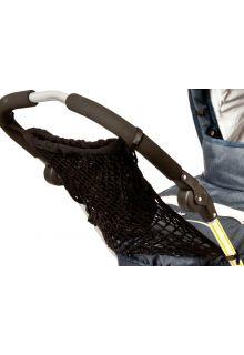 Altabebe---Boodschappentas-met-voering-voor-kinderwagens-en-buggy's---Zwart