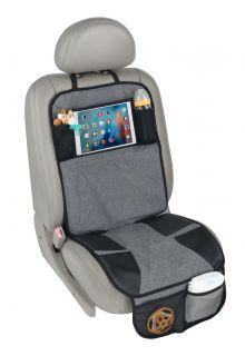 Altabebe---Beschermmat-voor-de-autostoel-met-iPad/tablet-vak---Grijs