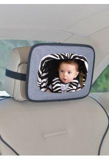 Altabebe---Autospiegel-voor-baby-op-de-achterbank---Grijs