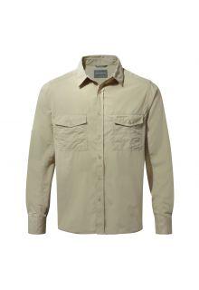 Craghoppers---UV-Overhemd-voor-heren---Longsleeve---Kiwi---Beige