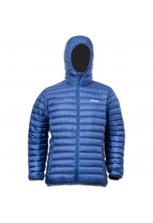 Lowland-Outdoor---Donsjas-voor-mannen---Optimum---Hoody---Kobalt-blauw
