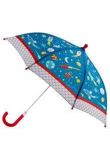 Stephen-Joseph---Paraplu-voor-jongens---Ruimteschepen---Blauw