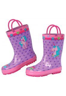 Stephen-Joseph---Regenlaarzen-voor-meisjes---Eenhoorn---Lila/roze
