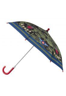 Stephen-Joseph---Paraplu-voor-jongens---Piloot---Camouflage-groen