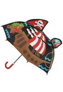 Stephen-Joseph---Pop-up-paraplu-voor-jongens---Piraat---Zwart