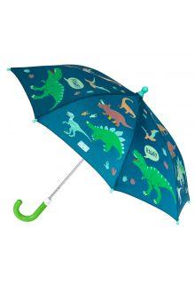 Stephen-Joseph---Kleur-veranderende-paraplu-voor-jongens---Dino---Donkerblauw