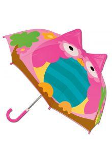 Stephen-Joseph---Pop-up-paraplu-voor-meisjes---Uil---Roze
