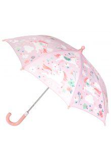 Stephen-Joseph---Kleur-veranderende-paraplu-voor-meisjes---Eenhoorn---Roze