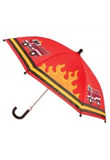 Stephen-Joseph---Paraplu-voor-jongens---Brandweer---Rood