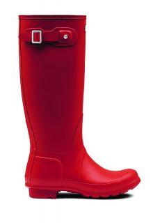 Hunter---Regenlaarzen-voor-dames---Original---Hoog---Rood