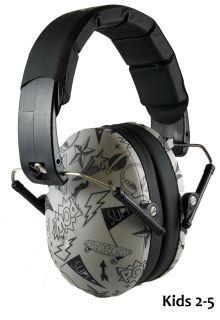 Banz---Geluidsreducerende-oorbeschermers-voor-kinderen---Hear-no-Blare---Graffiti