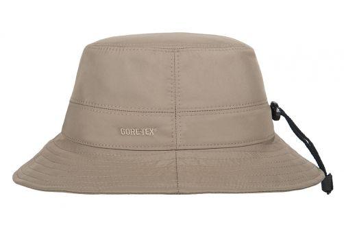 Hatland---Stoffen-hoed-voor-volwassenen---Lauben-Gore-Tex---Olijfgroen