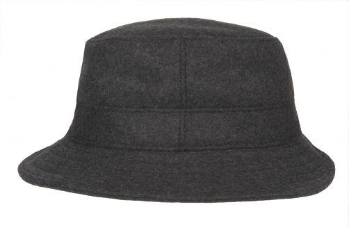Hatland---Bucket-hat-voor-heren---Thim-Windstopper---Antraciet