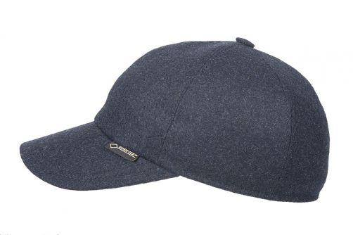Hatland---Baseball-cap-voor-volwassenen---Ruston-Gore-Tex---Donkerblauw
