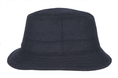 Hatland---Bucket-hat-voor-heren---Thim-Windstopper---Donkerblauw