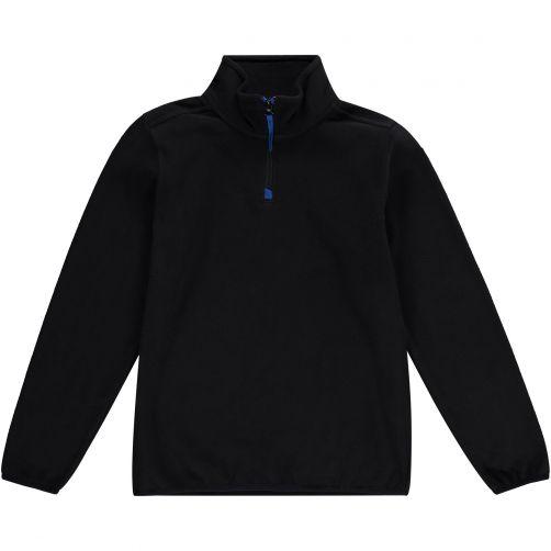 O'Neill---Half-Zip-Fleece-trui-voor-jongens---Solid---Zwartgrijs
