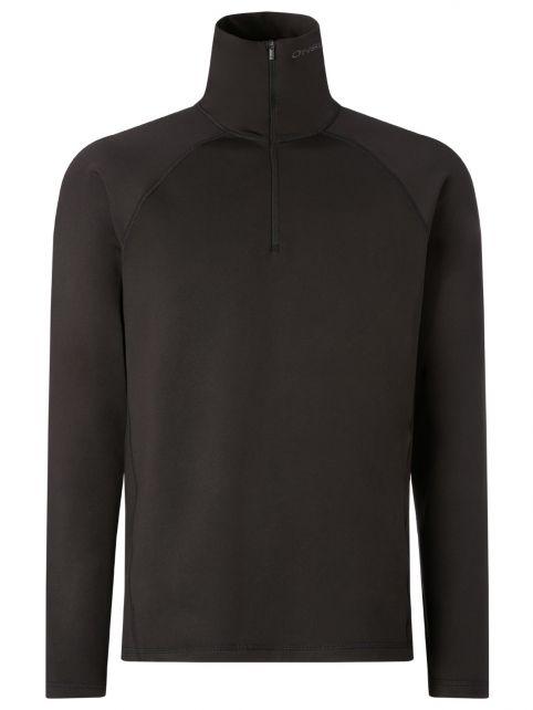 O'Neill---Half-Zip-Fleece-trui-voor-mannen---Clime---Zwartgrijs
