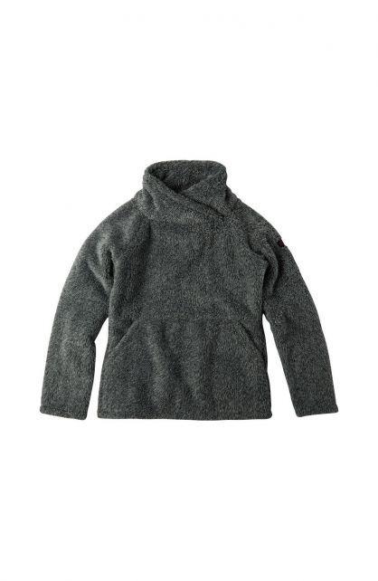 O'Neill---Fleece-trui-voor-meisjes---Hazel---Zwartgrijs