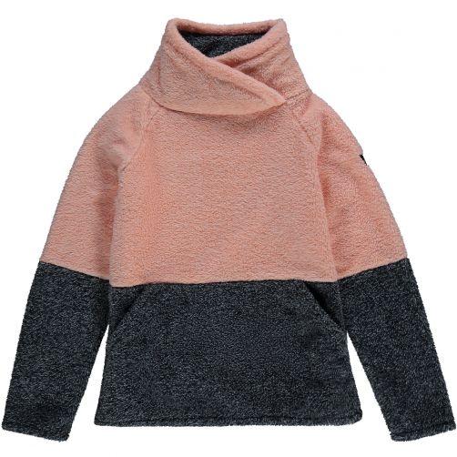 O'Neill---Fleece-trui-voor-meisjes---Hazel---Zalmroze