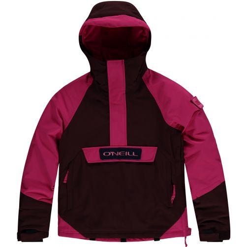 O'Neill---Ski-jas-voor-meisjes---Anorak---Roodbruin