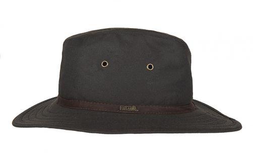 Hatland---Stoffen-hoed-voor-heren---New-Zealand---Bruin