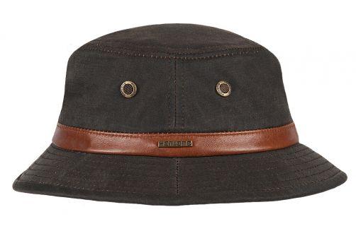 Hatland---Bucket-hat-voor-heren---Whitman---Bruin