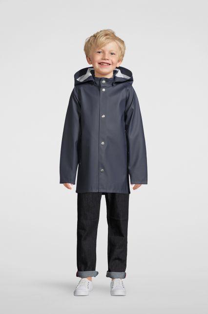 Stutterheim---Regenjas-voor-kinderen---Mini-Stockholm---Donkerblauw