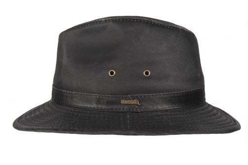 Hatland---Stoffen-hoed-voor-heren---Orville---Antraciet