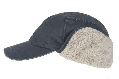 Hatland---Baseball-cap-voor-heren---Trick---Donkerblauw