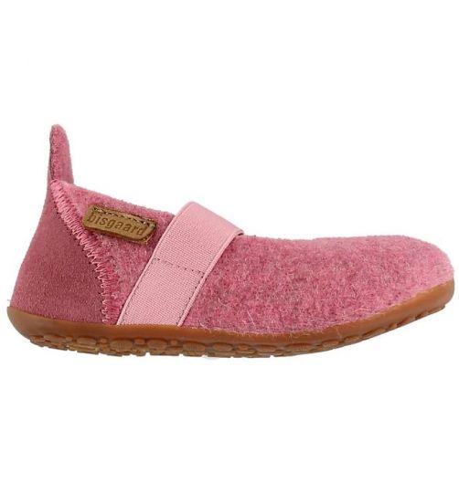Bisgaard---Pantoffels-voor-kinderen---Ballet-wool---Roze