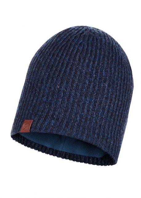 Buff---Gebreide-Polar-Muts-Lyne-voor-volwassenen---Nachtblauw