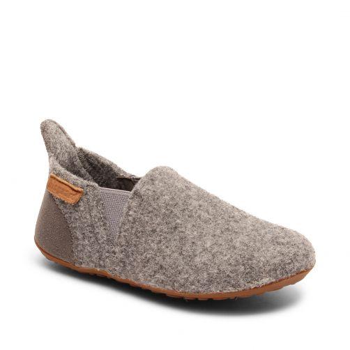 Bisgaard---Pantoffels-voor-baby's---Sailor-wool---Grijs