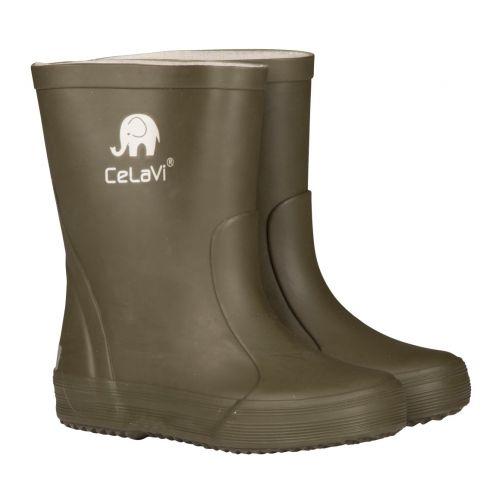 CeLaVi---Regenlaarzen-kind---Donker-groen