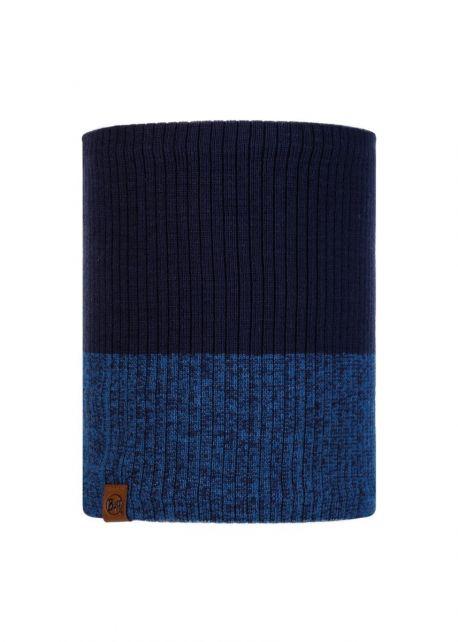 Buff---Gebreide-Polar-Nekwarmer-Dima-voor-volwassen---Nachtblauw/Blauw