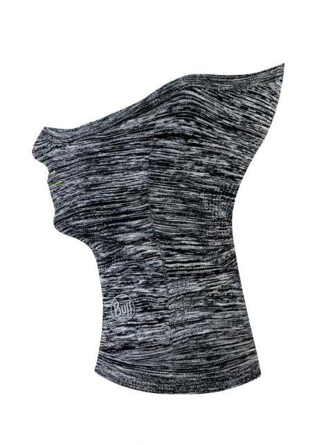 Buff---Dryflx+-Reflecterende-Nek--&-gezichtswarmer-voor-volwassenen---Lichtgrijs