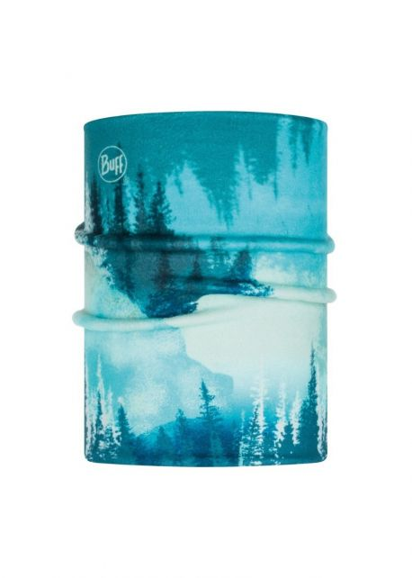 Buff---Omkeerbare-Polar-Nekwarmer-Lake-voor-kinderen---Turquoise/Multi