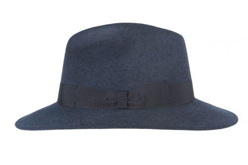 Hatland---Wollen-hoed-voor-dames---Ylse---Donkerblauw