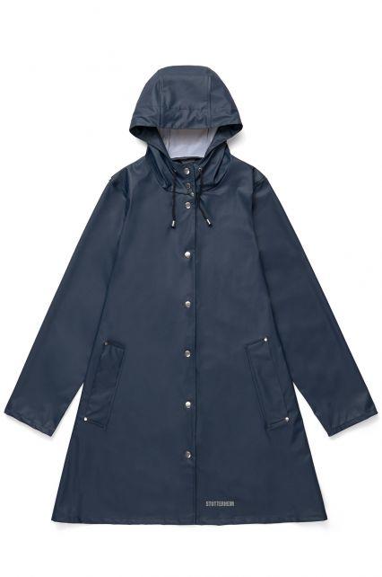 Stutterheim---Lichtgewicht-regenjas-voor-dames---Mosebacke-LW---Donkerblauw
