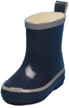 Playshoes---Korte-regenlaarsjes---Donkerblauw