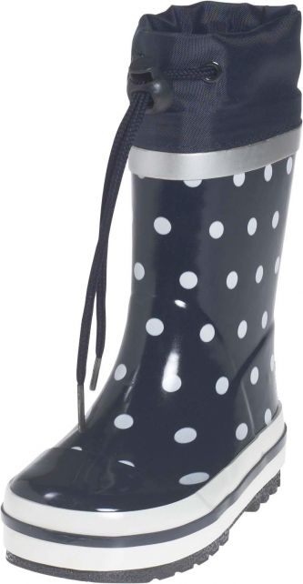 Playshoes---Regenlaarsje-Stippen---Donkerblauw