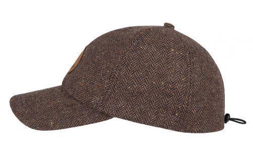 Hatland---Baseball-cap-voor-heren---Waban---Bruin