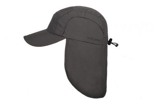 Hatland---Verkoelende-UV-pet-met-nekbescherming-voor-heren---Malcolm---Antraciet