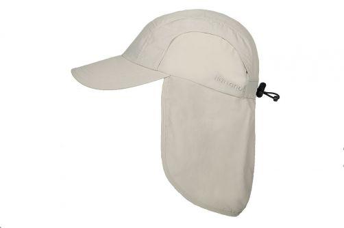 Hatland---Verkoelende-UV-pet-met-nekbescherming-voor-heren---Malcolm---Gebroken-wit
