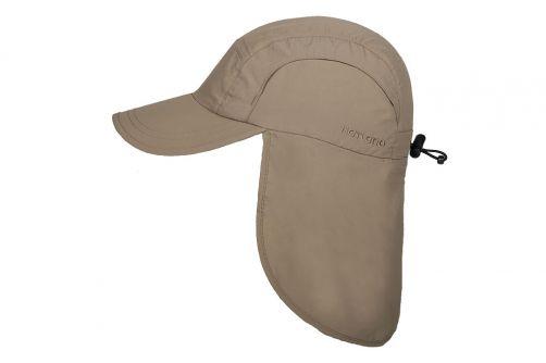 Hatland---Verkoelende-UV-pet-met-nekbescherming-voor-heren---Malcolm---Beige