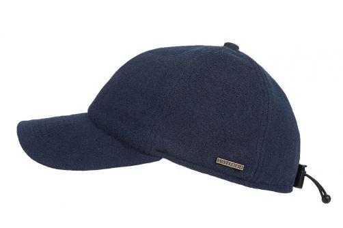 Hatland---Baseball-cap-voor-heren---Lenox---Zwart