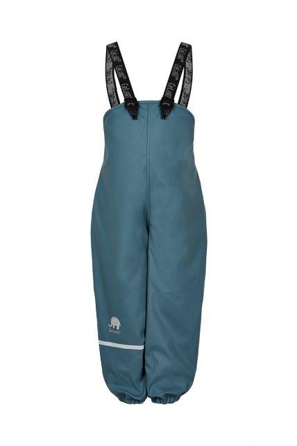 CeLaVi---Regenbroek-met-fleece-voor-kinderen---Boord-of-elastische-taille---IJsblauw